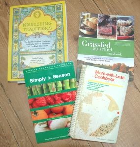 Christine'e Favourite Cookbooks