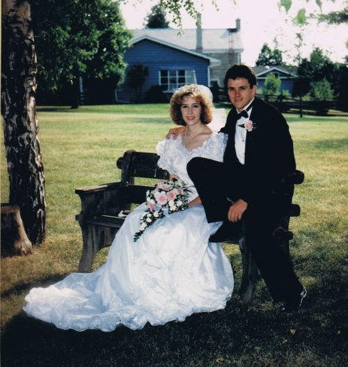 Christine and Steve, June 29, 1991